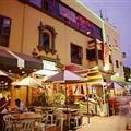 Calle de las Pizzas en Miraflores, Lima-Peru