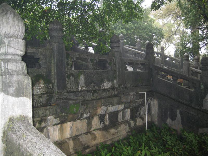 Steps to one of the palace buildings