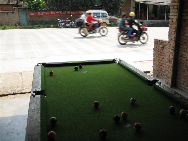 roadside pool