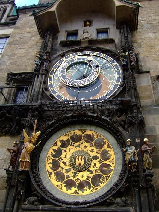 The Astronomical Clock at Stare´ Me?sto