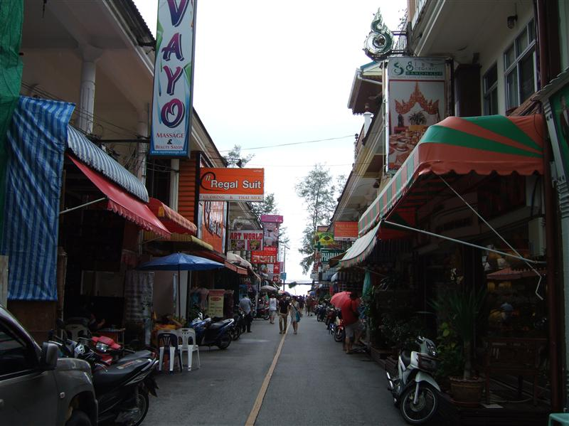 I like this street! I had very good lunch and massage here + the art shop!
