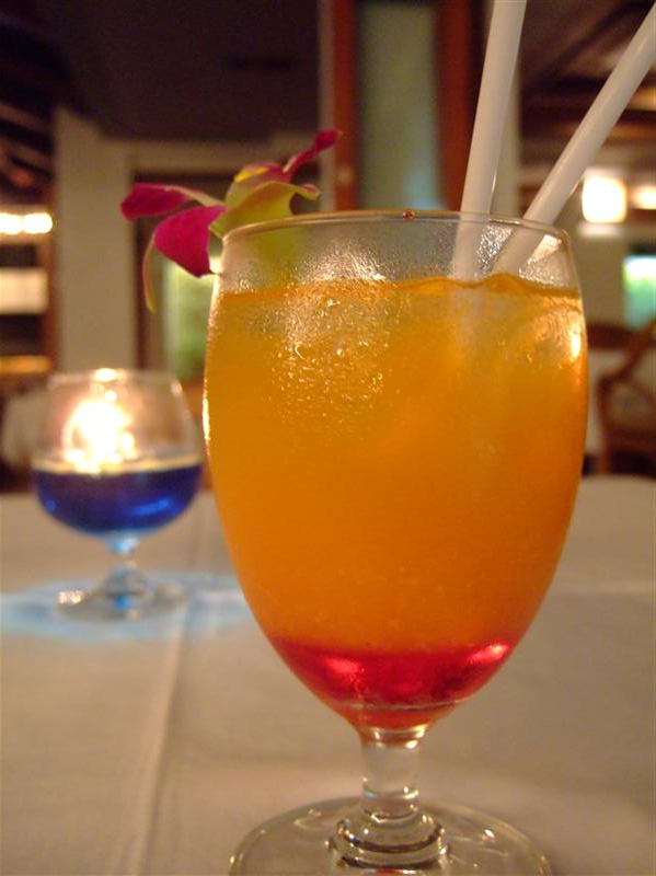 Supper drink: Tequila Sunrise