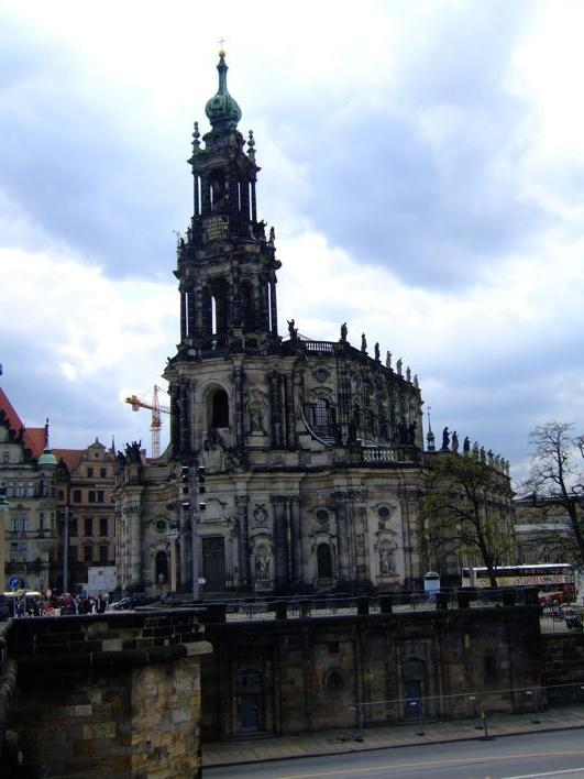 The Hofkirche - yet another church i saw