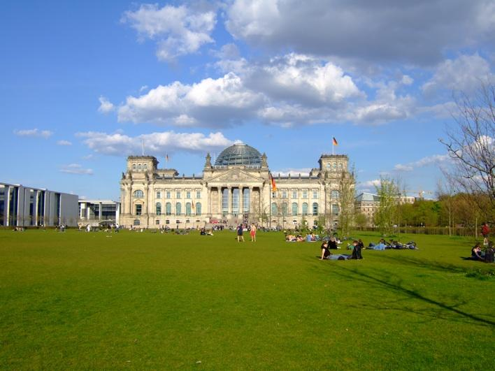 Reichstag - the parliment building