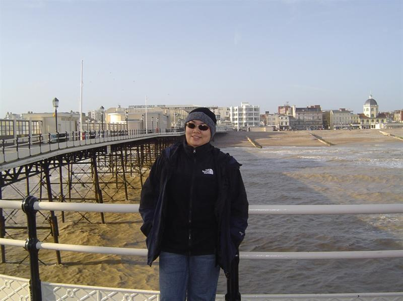 Me at The Pier at Worthing