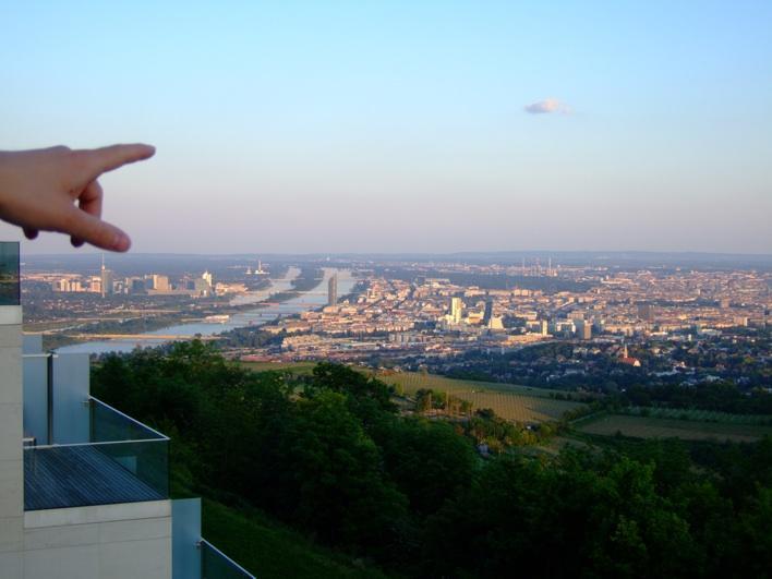 Vienna - view fr Leopoldsberg
