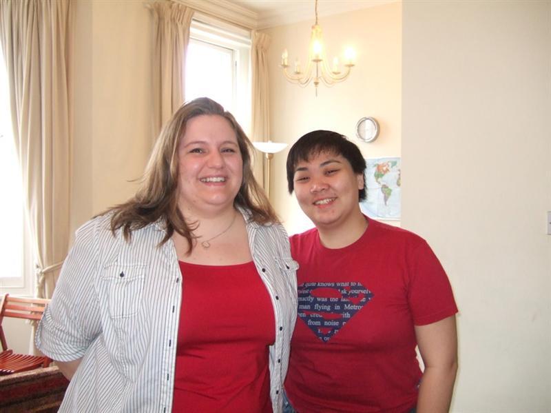 Abby & me!