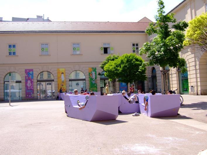 inside Museums Quartier