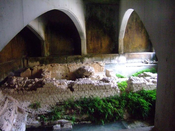 the old Roman Baths.. or what's left of it!