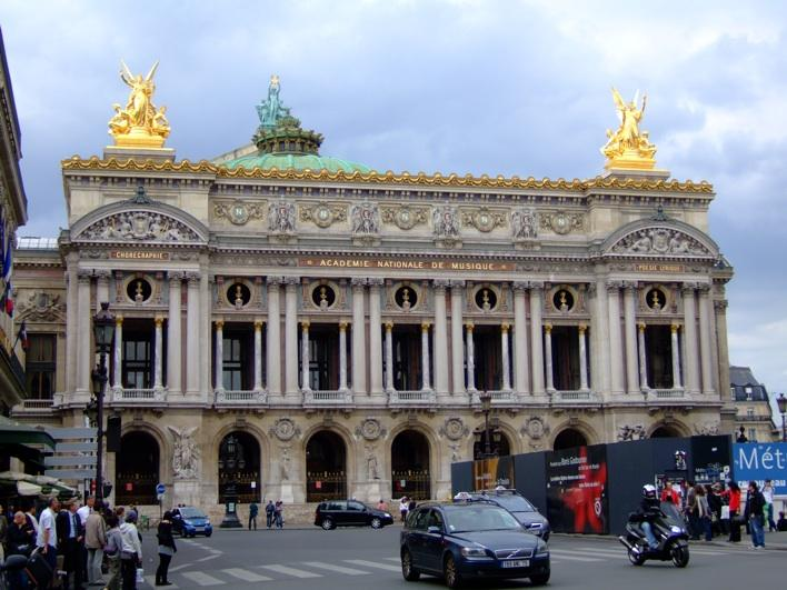 The Palais Garnier aka Paris Opera House
