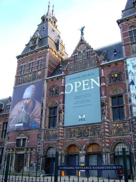 Rijks Museum - houses some important works of Vemeer
