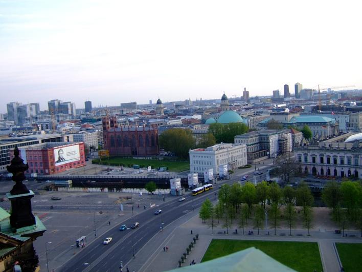 view from top of Berliner Dom