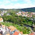 Ceske Krumlov - view fr castle tower