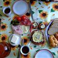 breakfast by Frank's mum