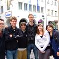 L-R: Alan, Jonathan, Andrew, Gwen, Insa, me (eve taking photo)