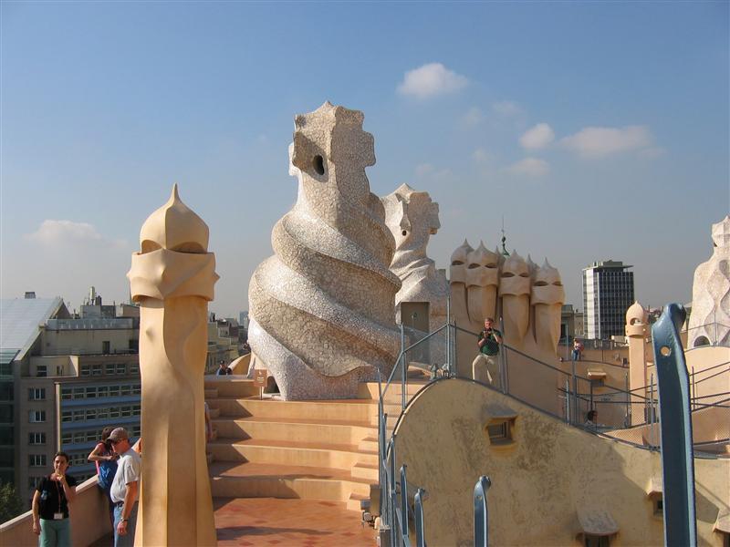 Rooftop of Casa Mila