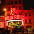 Moulin Rouge! Literally a 45 second walk from my hostel