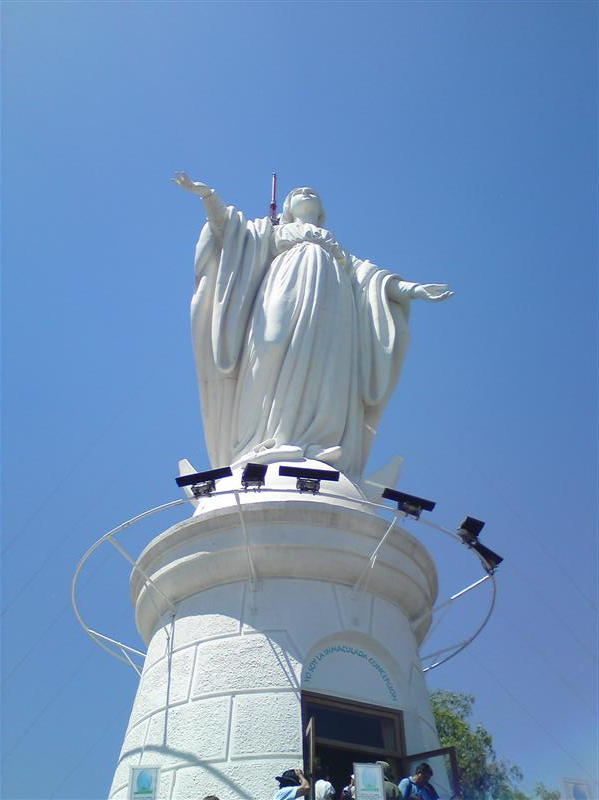 Maria @ Cerro San Cristobal