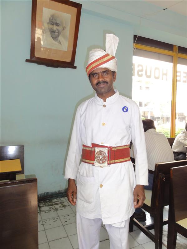 The Indian Coffee house & staff in their traditional costume