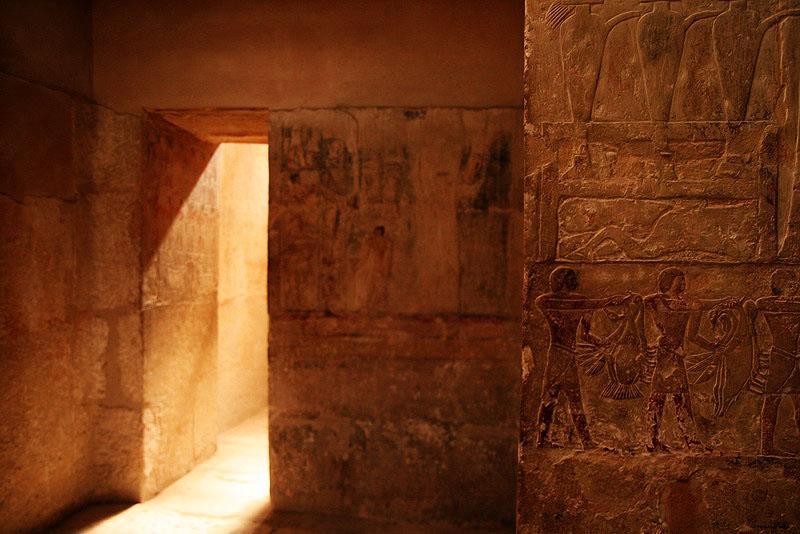 Inside the tomb of  Mereruka