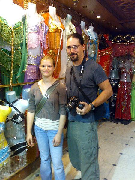 Being good consumer tourists at Khan el Khalili