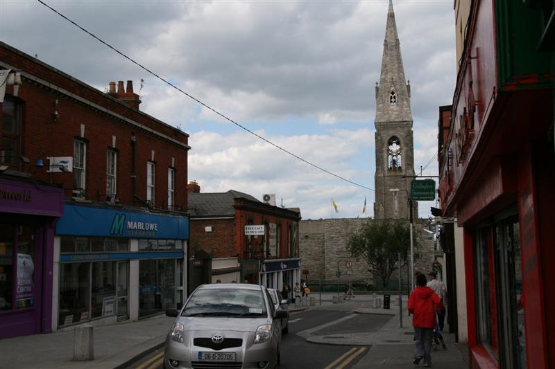 Street in Dun Laoghaire 