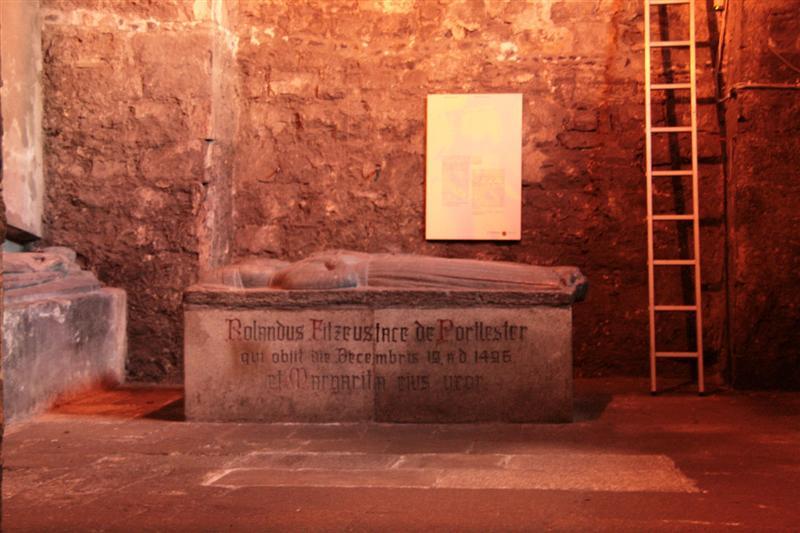 Tomb inside St Audoen's