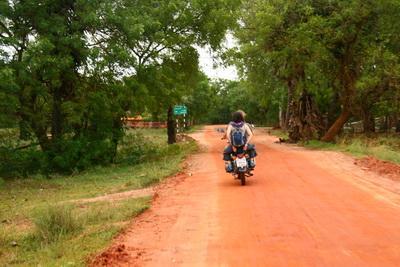 Crusing Auroville