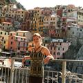Amanda in Manarola 