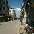 The street where I lived in Hanoi for 1 month