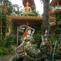 Temple sculpture of Mother Earth