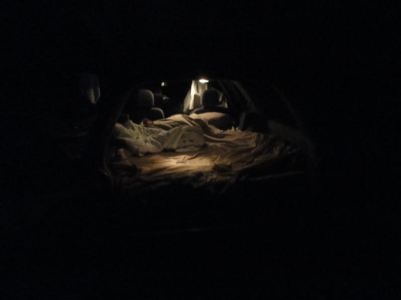 Notre lit a Plomer Point