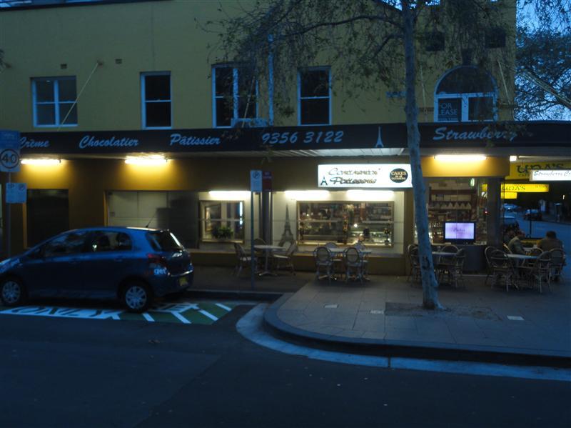 Boulangerie francaise Victoria Street