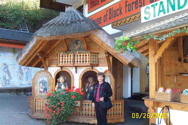 In the Black Forest.