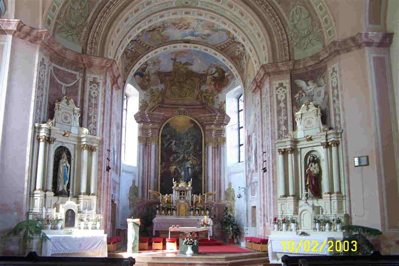 Inside Nyul Church