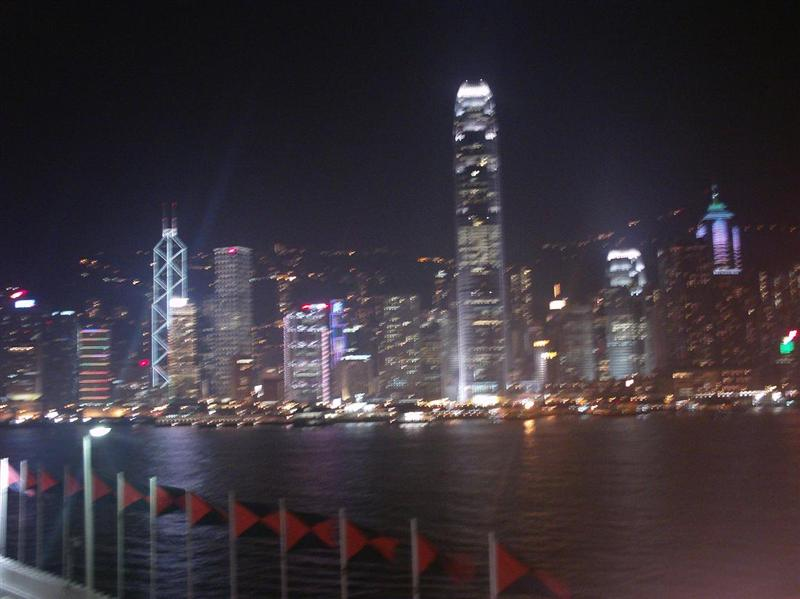 Night view of the city