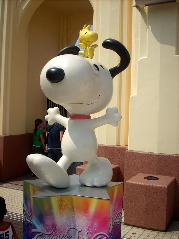 Snoopy, my favourite!