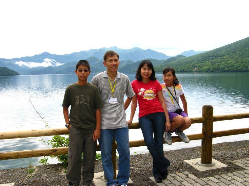 at Lake Chuzenjiko