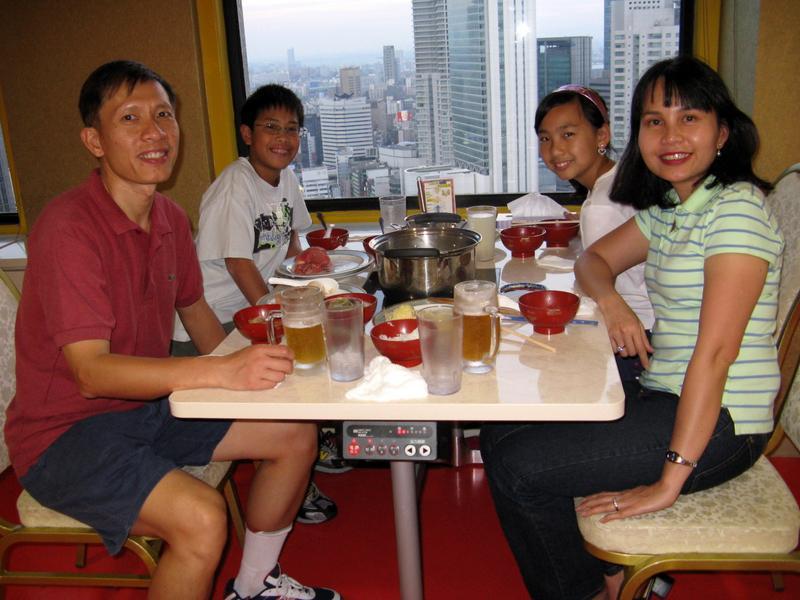 Dinner Osaka