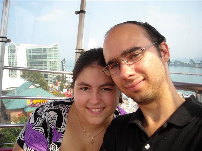 Us on the Ferris Wheel