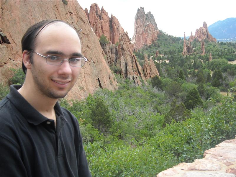 Mike at the Garden of the Gods