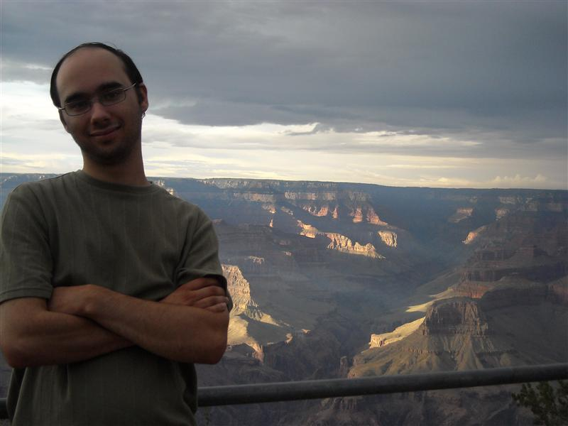 Mike at the Grand Canyon