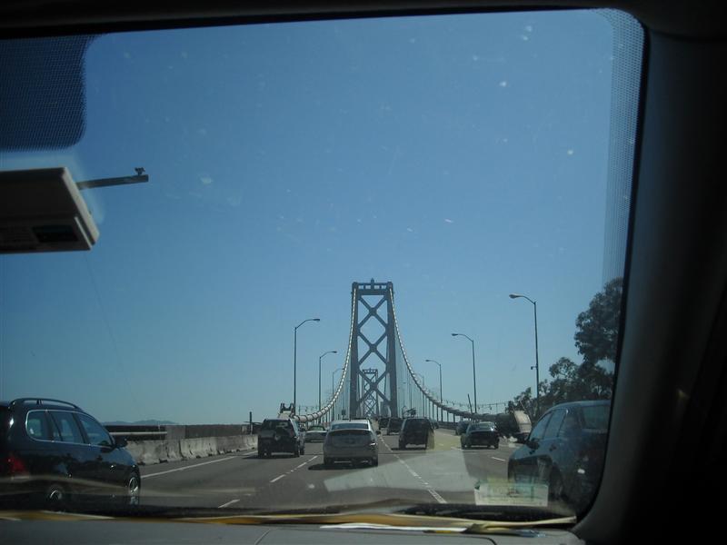 Bridge into San Francisco