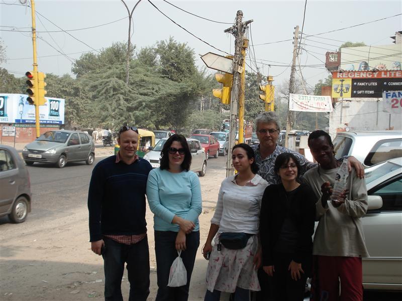 John, Irene, Paly, Eric, Nataniel and Kerry at Gittorni Village