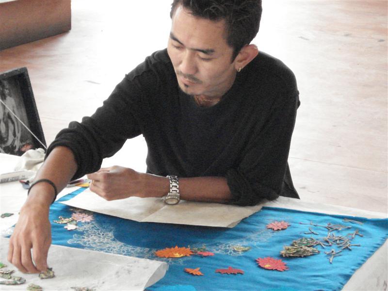 Textile Artist, Norbulingka