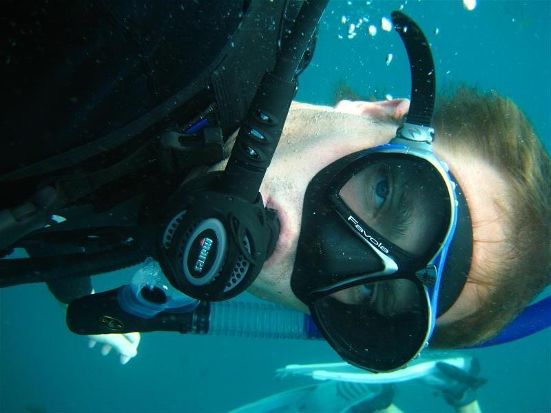 Me under water Koh tao 2