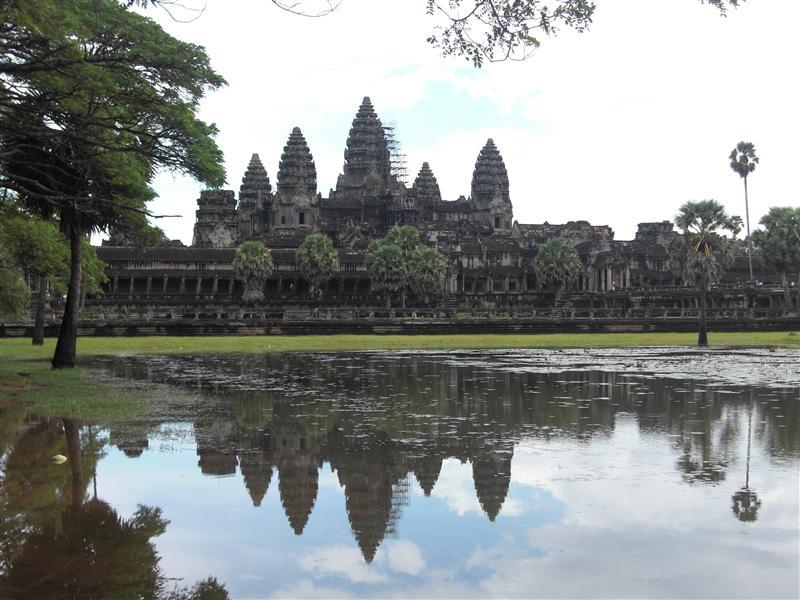 El gran gran gran (inmenso) templo de Angkor