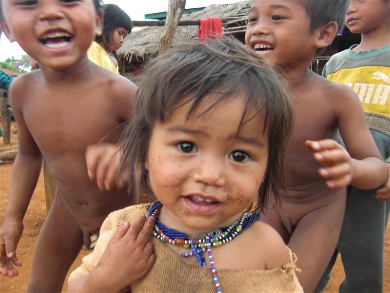 La nena más dulce de toda la aldea y sus churretones