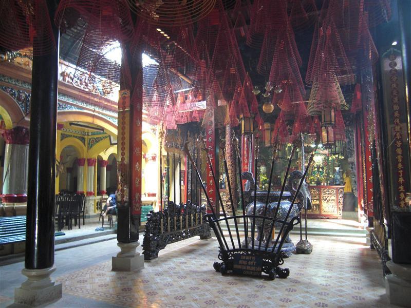 Templos chinos magistralmente decorados