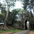 Las puertas de la fortaleza de Angkor Thom